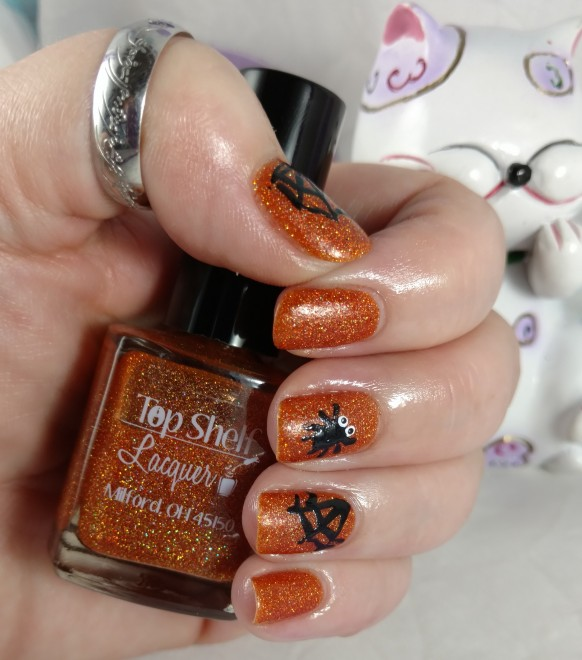 Top Shelf Lacquer 2015 Halloween Collection Candy Corn Cordial